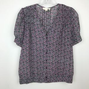 Urban Outfitters Silence & Noise Floral Blouse M